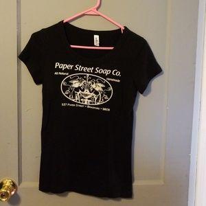 Paper street soap co tshirt medium